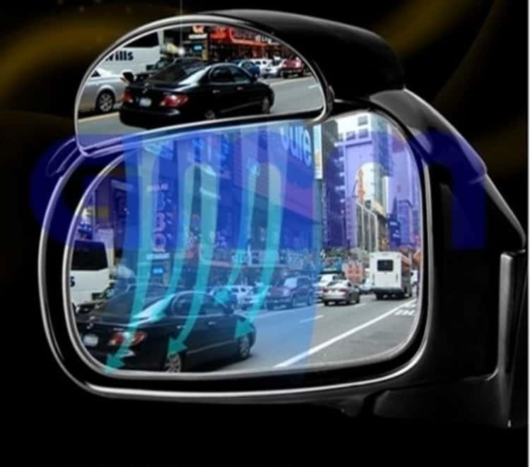 Side mirror wipes car gadget