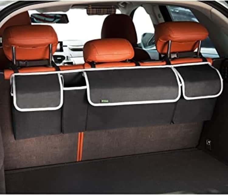 Backseat car organizer gadget
