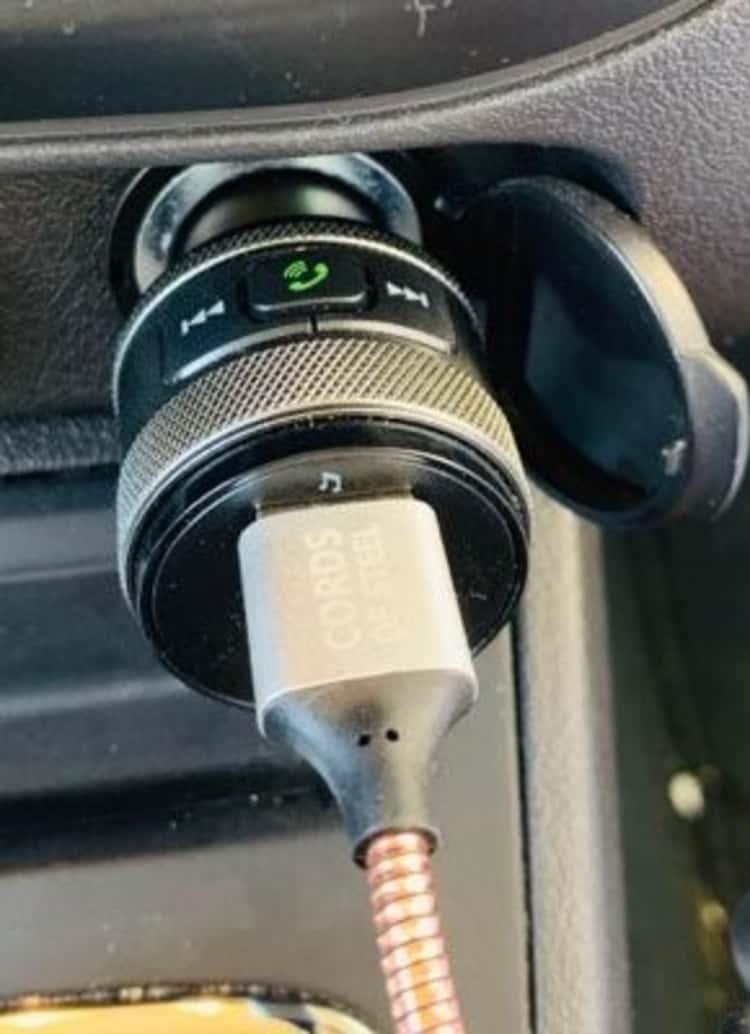 Aux Connector Car Gadget