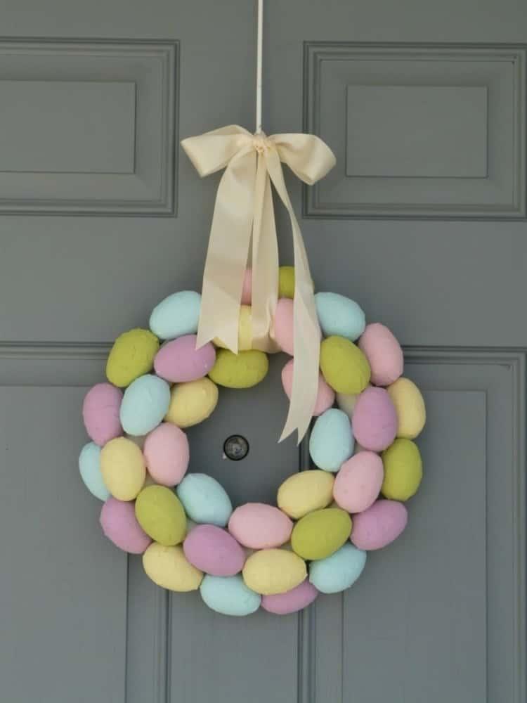 Paper Mache Decorative Easter Egg Sheath