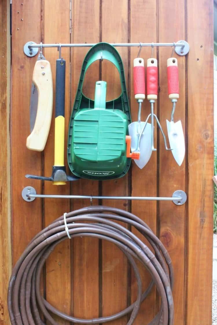 Farm Tools Holder DIY