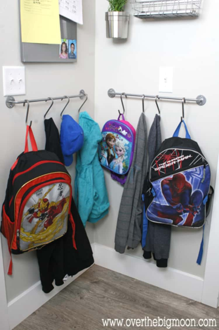 Hanger For Mud Room