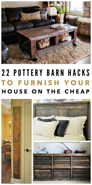22 Pottery Barn Hacks