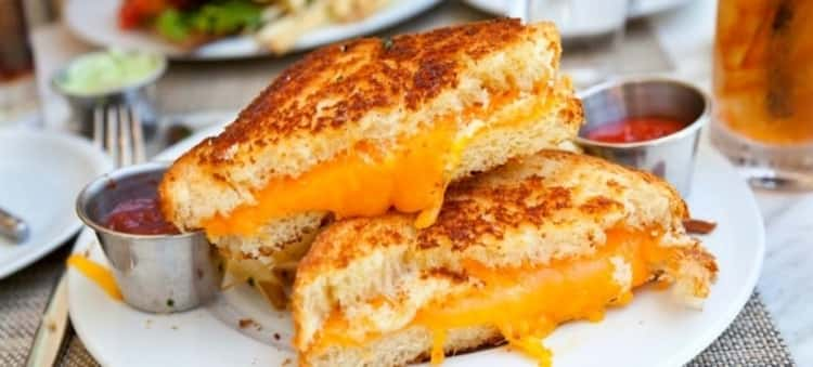 Grill a cheese sandwich on your coffee maker