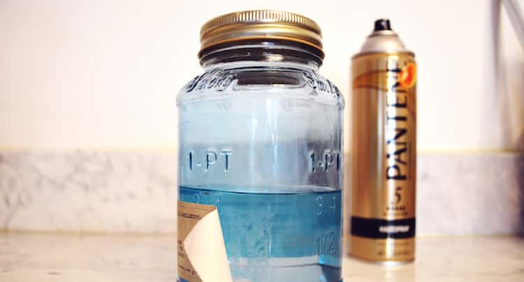 Hairspray Hacks For Removal of Labels on Containers