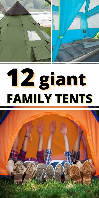 12 big tents for big families