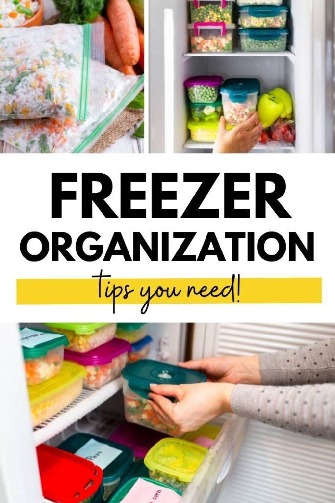 Freezer Organization tips you need