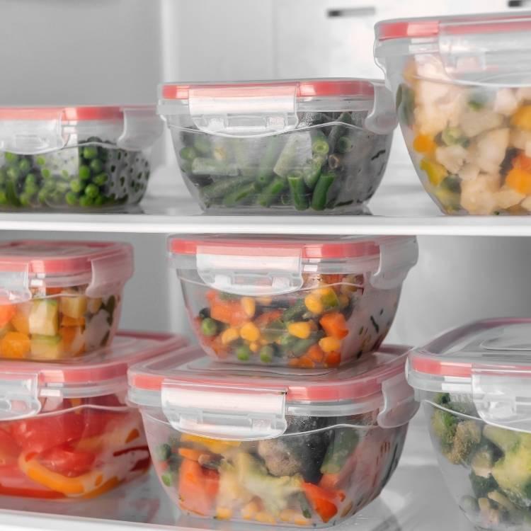 remove boxes for freezer storage