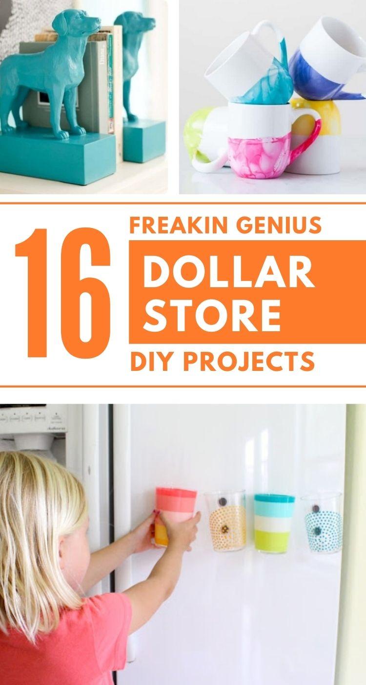 Genius Dollar Store DIY Ideas