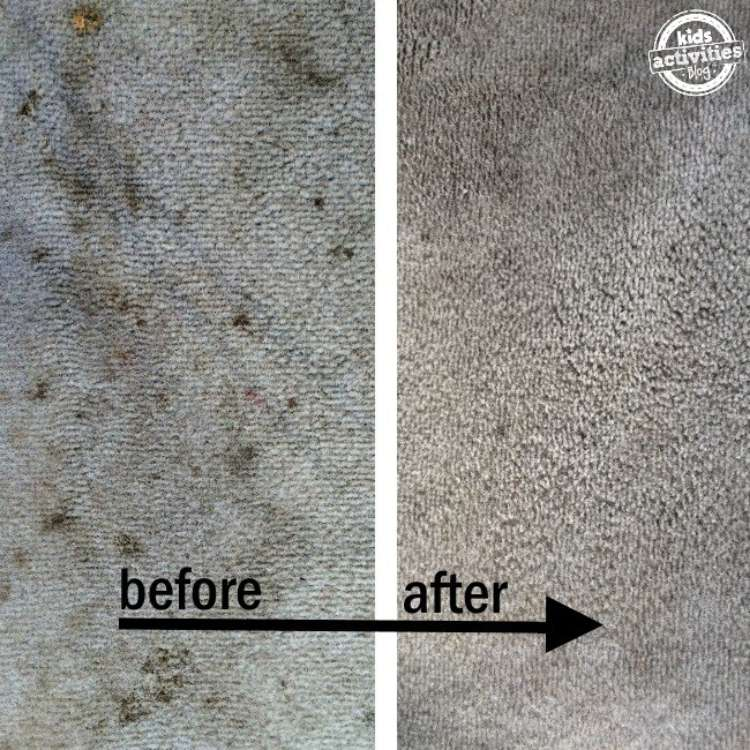 OneCrazyHouse Easy Car Repairs before and after shot of car interior cleaned
