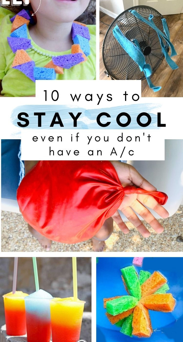 tips and tricks to stay cool if you dont have airconditioning
