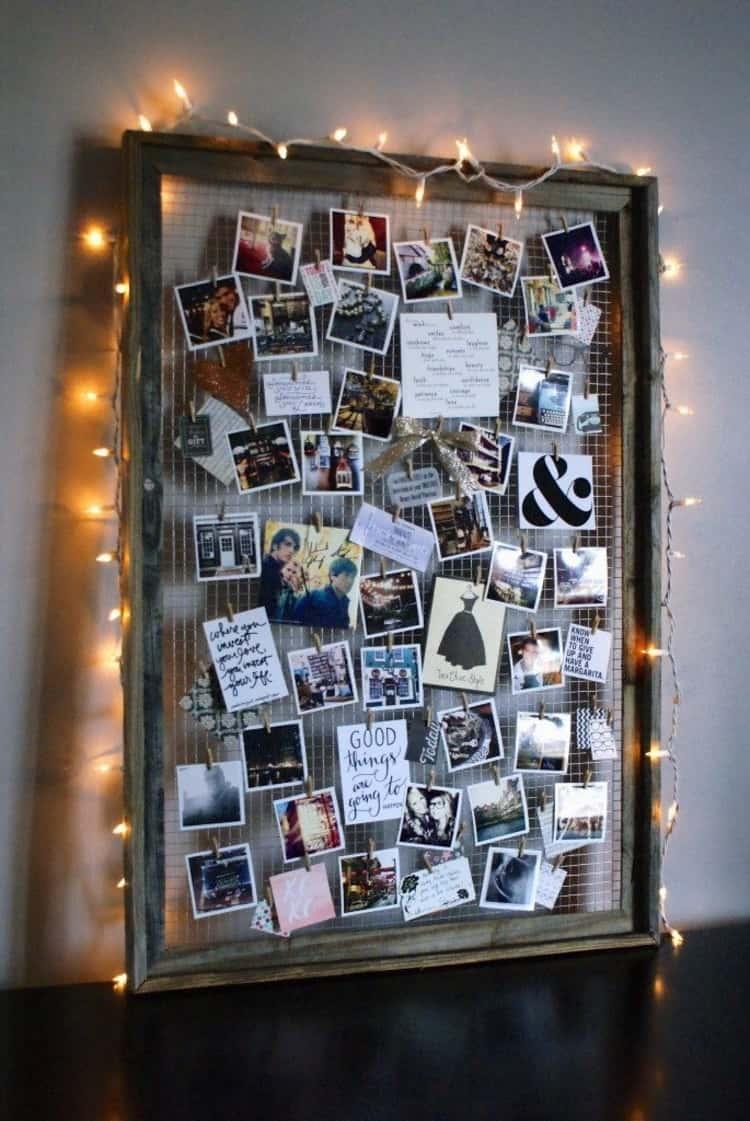 Piture frame inspired mood board