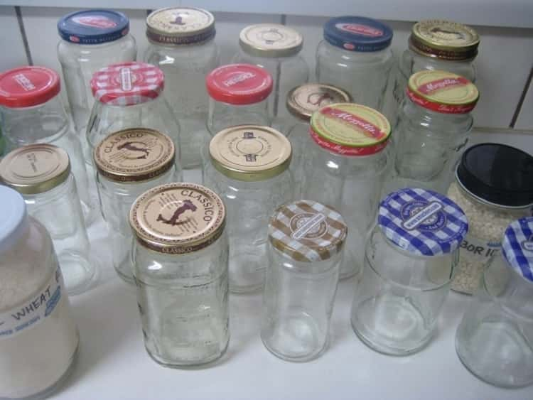 Remove labels from your jars