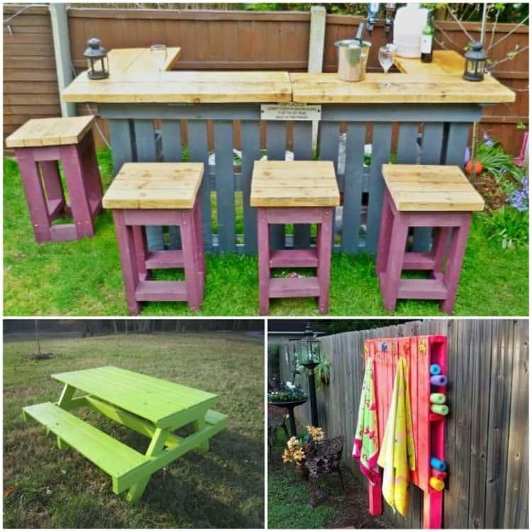 17 summer pallet project ideas