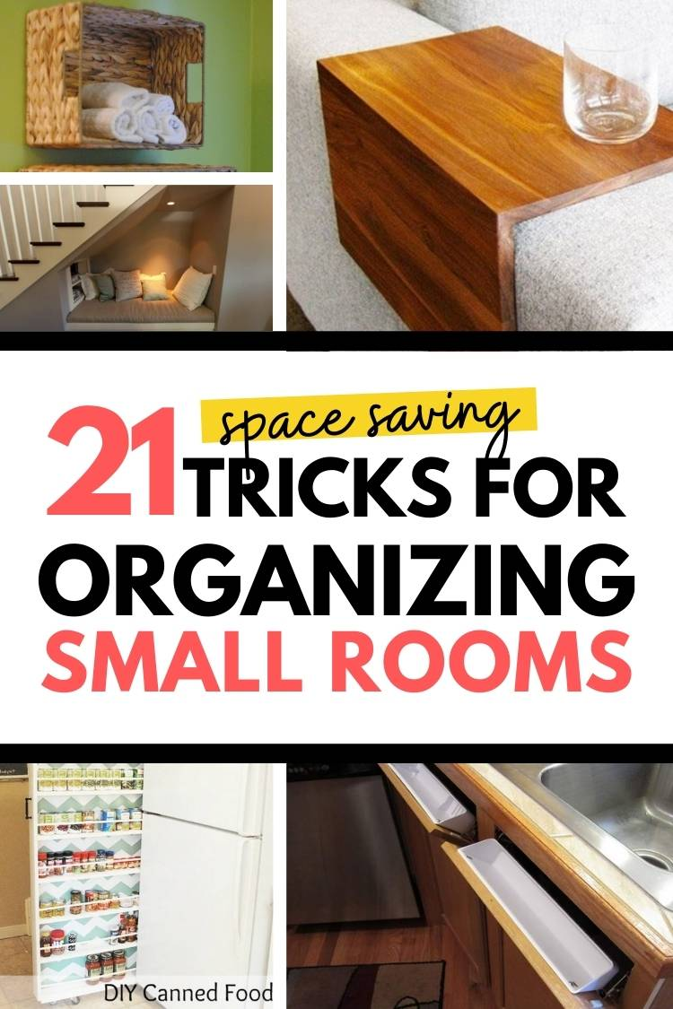 tricks for organizing small rooms