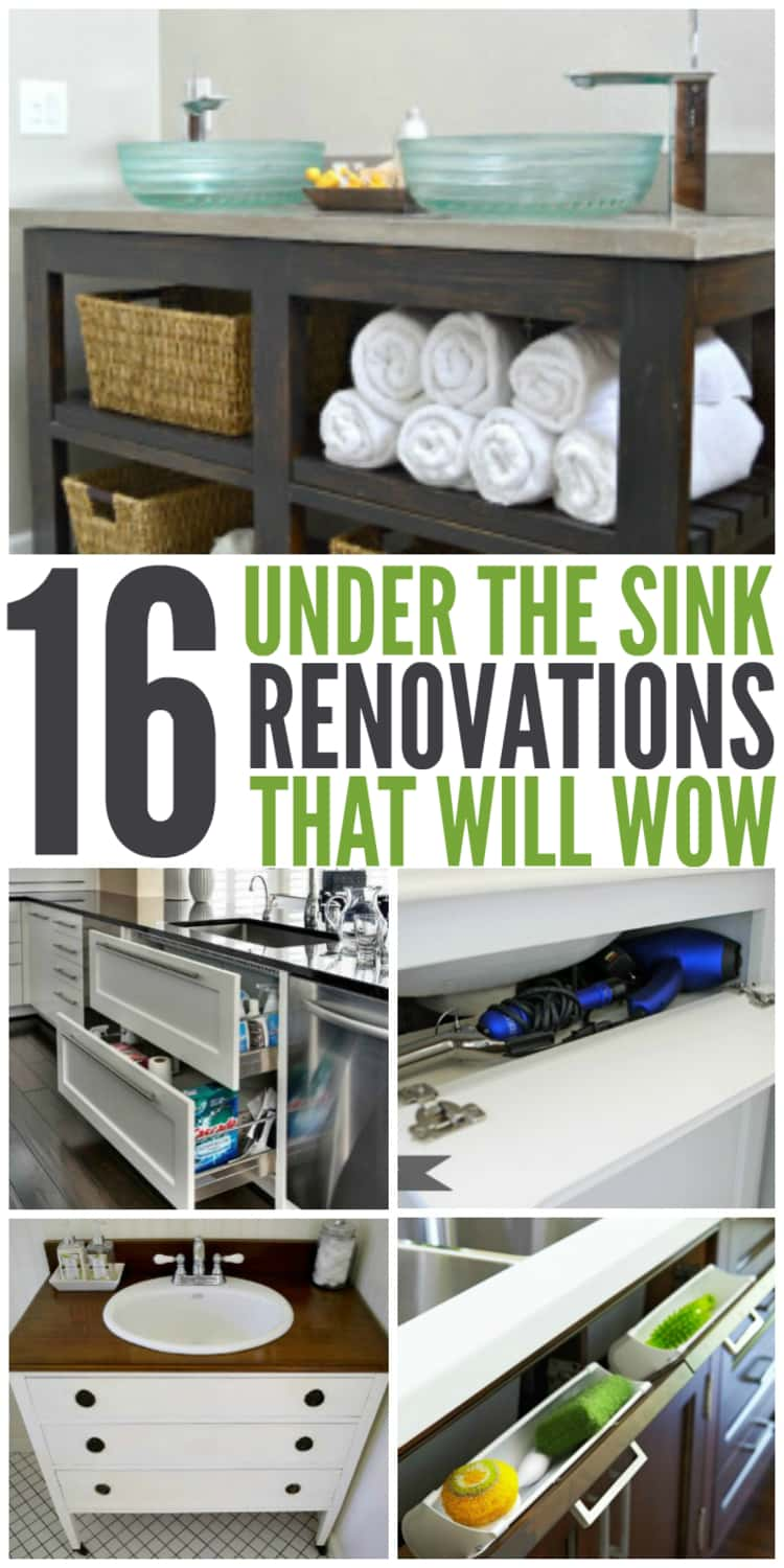 Under the sink storage tips that are absolutely a must try