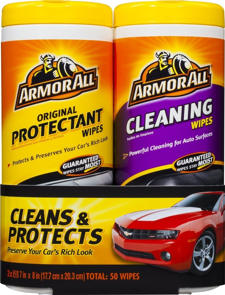 Protectant and Cleaning Wipes