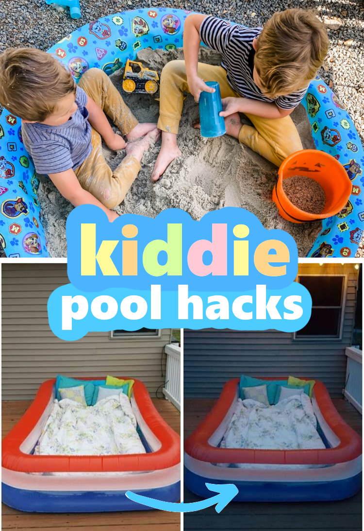 super FUN ways to reuse a kiddie pool