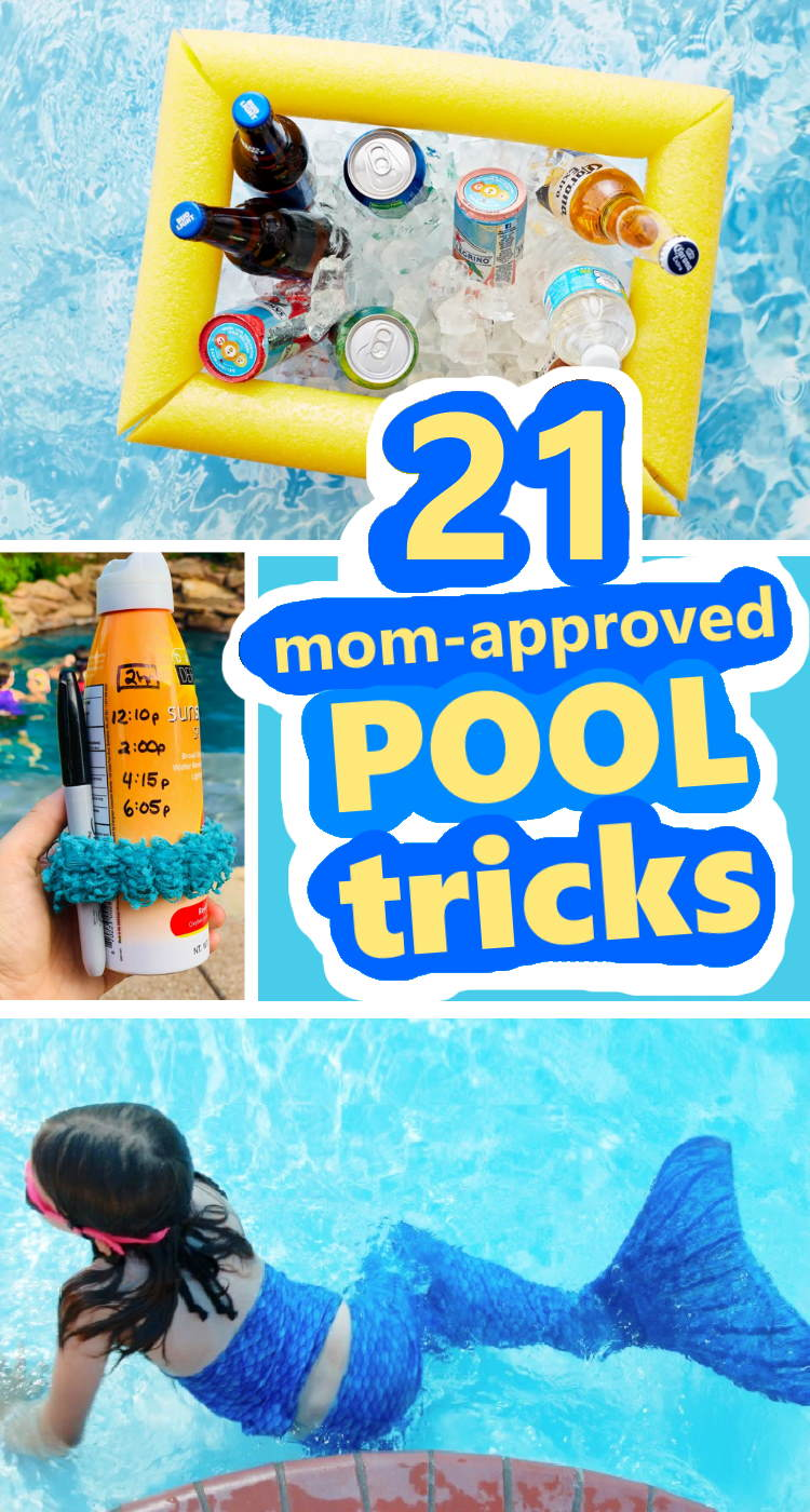 mom approved fun pool hacks and tips