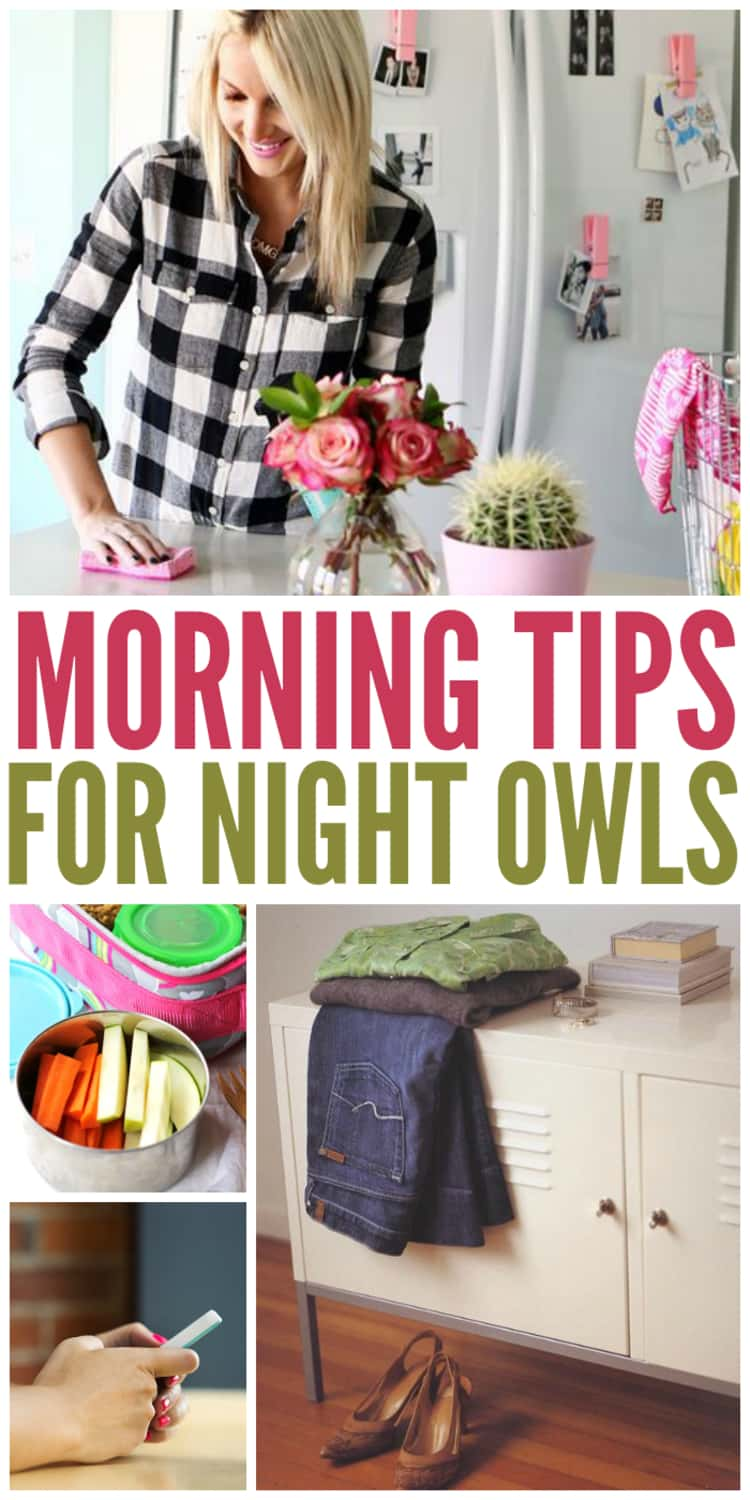 Healthy morning routines for night owls