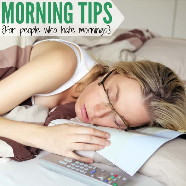 Morning routine tips for night owls