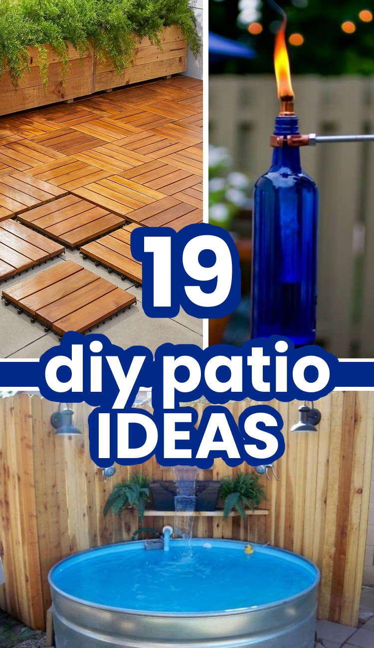 Genius Patio Ideas you can do yourself