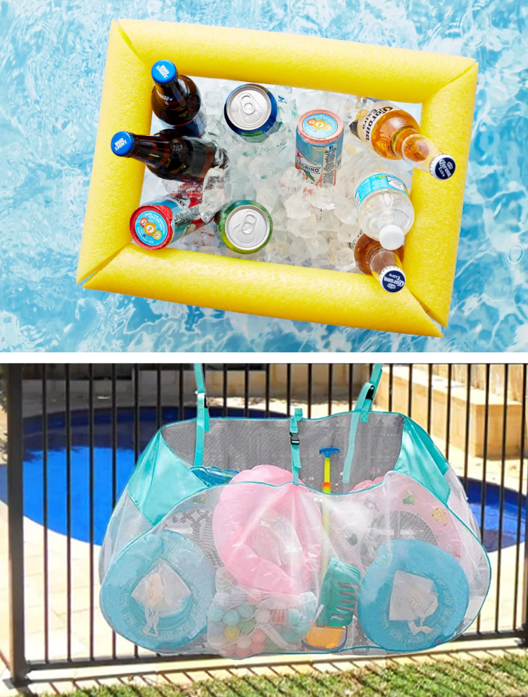 pool toy storage ideas and tips