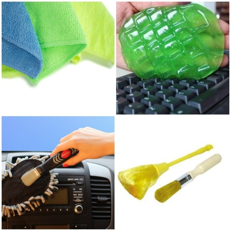 Supplies you need to clean your car in details