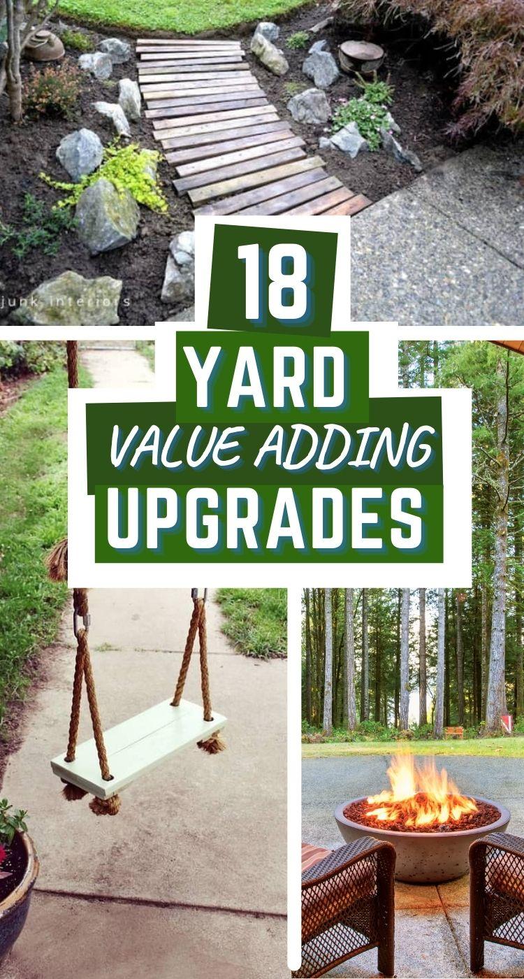 home value adding backyard upgrade ideas