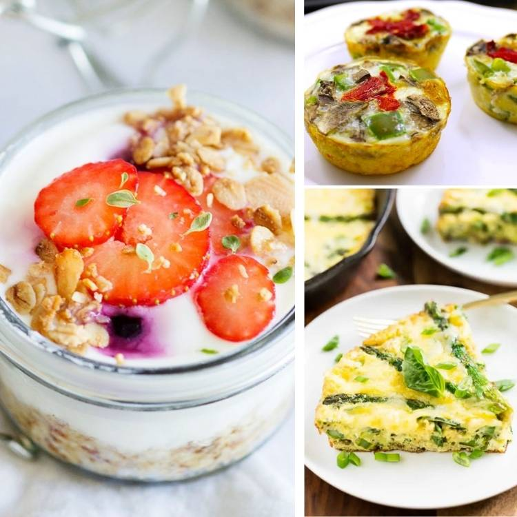easy make ahead breakfast recipes that are easy to freeze and reheat