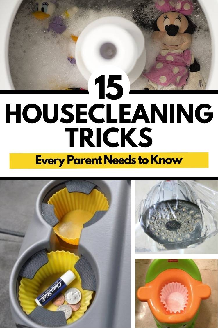 15 Housecleaning Tricks that everyone should know